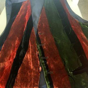 Vintage Georgina Von Etzdorf Silk Waistcoat 1990